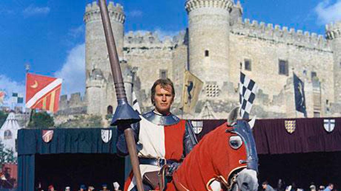 El Cid frente al castillo de Belmonte