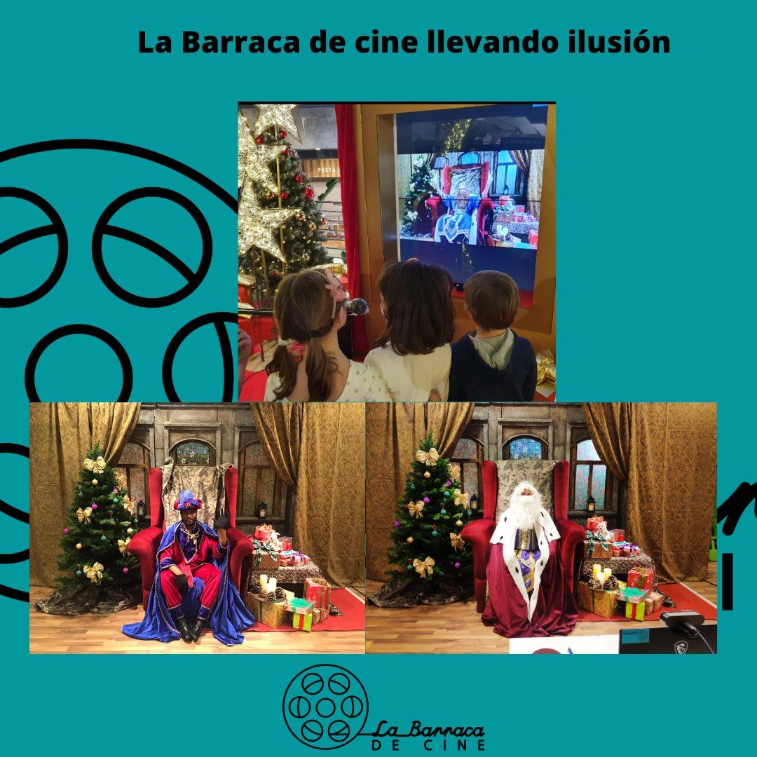 Reyes Magos con la Barraca de Cine